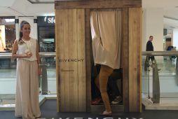 Imagen fotomatón para un evento de Givenchy