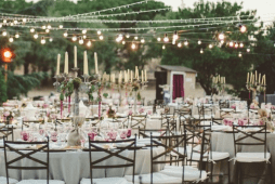 Fotomatón como parte de la decoración de bodas