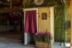 Imagen Fotomatón cabina Cabina Top 2 Rústica interior Flash Flash Box